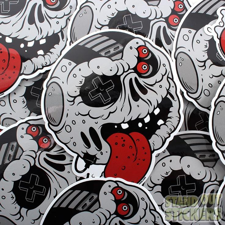 Unique Custom Die Cut Stickers Ideas On Pinterest Surfer - Custom cut vinyl stickers
