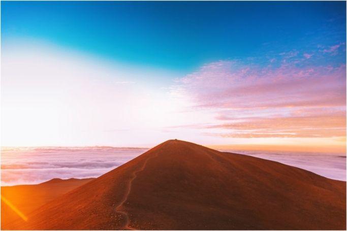 sunrise at mauna kea summit photographer