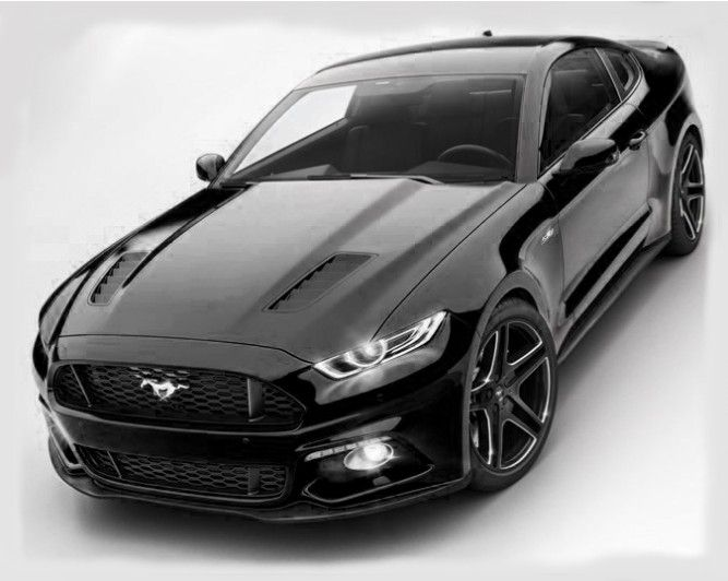 2015 Mustang, I haven't really liked any of the body styles since '69, but this.....