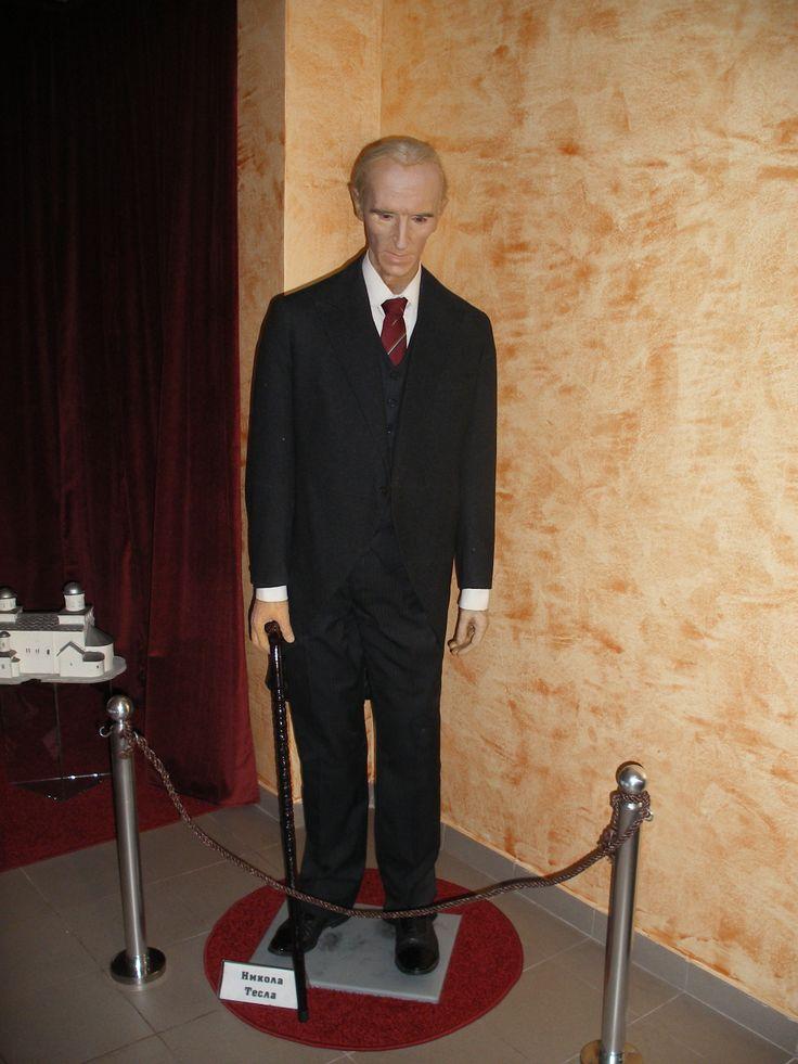 Nikola Tesla Figure In The Wax Museum In Jagodina Serbia Nikola Tesla Wax Museum Wax