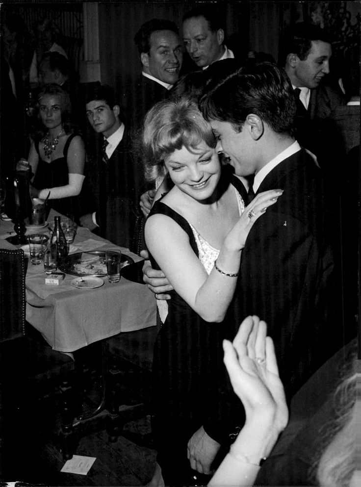 Romy Schneider & Alain Delon, 1959