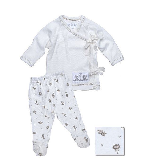 Shop Small Local Mom Business Soft Organic cotton make the this Layette set the perfect home for the hospital outfit. It also makes a great baby shower gift. On Sale now.