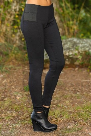 The most perfect pair of black leggings! Simply amazing! Thick, black leggings! Obsessed! You will never want to wear anything else!