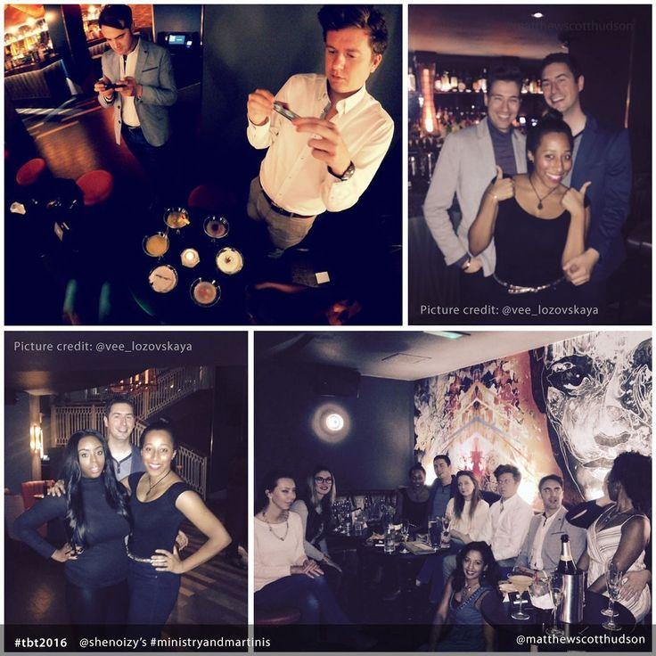#tbt2016 @shenoizy M&M event #tbt #martini #dirtymartini #london