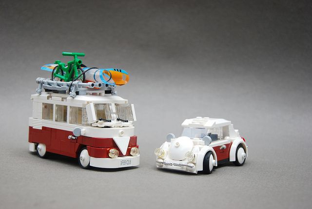 VW Camper and Käfer