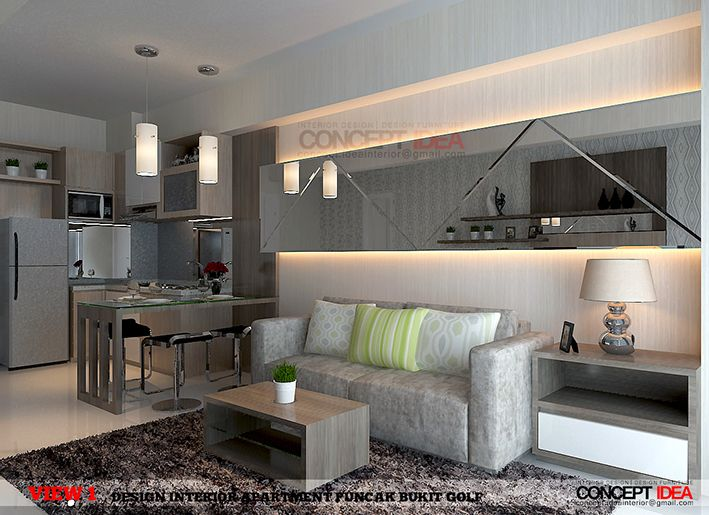 Project Interior Design Apartment Puncak Bukit Golf Surabaya