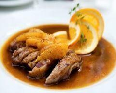 Magret de canard et sa sauce à l'orange Ingrédients