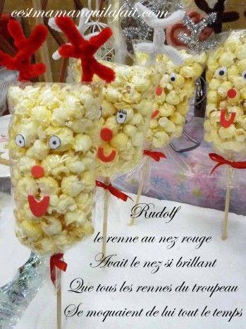 Voici+comment+faire+des+popcorns+balls+en+tête+de+renne+du+père+Noël, pour+les+enfants.+Et+pourquoi+ne+pas+leur+expliquer+comment+Rudolph+est+devenu+le+neuvième+renne+du+père+Noël? Ci+dessous+tuto+vidéo+pour+les+popcorns+balls+pl
