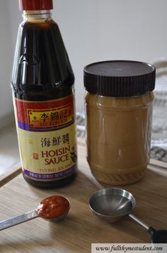 perfect peanut dipping sauce for vietnamese spring rolls