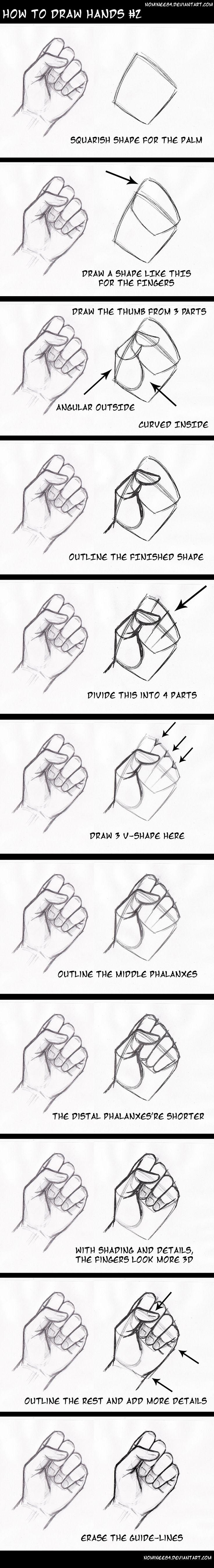 Hände zeichnen