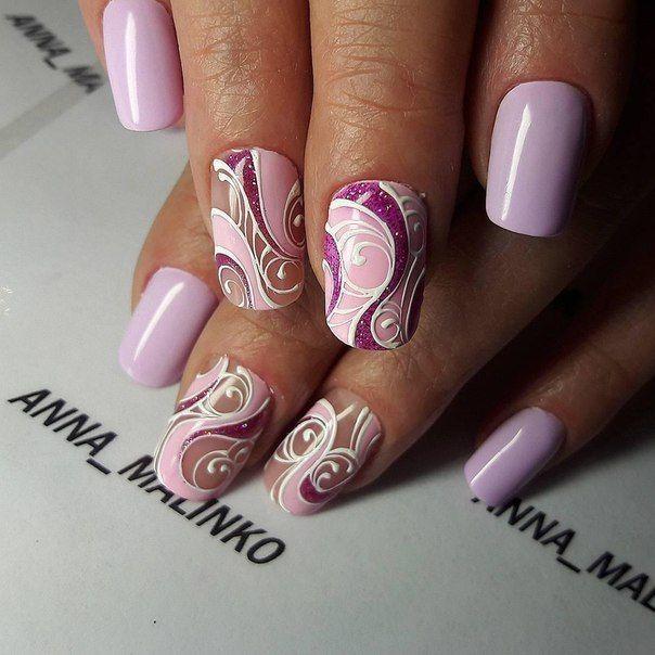 Beautiful nails 2016, Bright summer nails, Drawings on nails, Evening nails, Ideas of winter nails, Manicure by summer dress, Original nails, Party nails