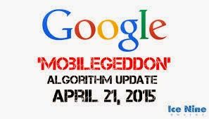 Google Algorithma Mobliegeddon 2015