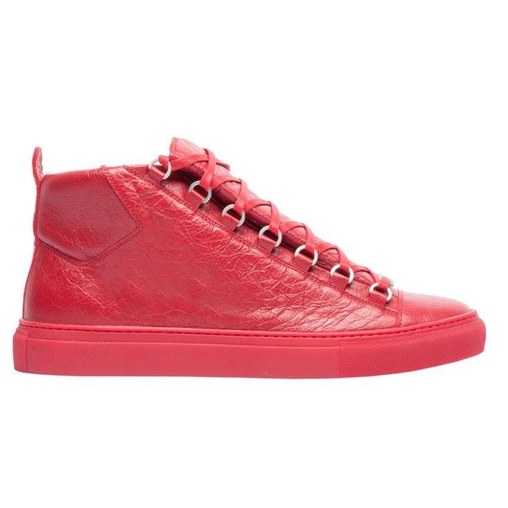Balenciaga Sneakers Ayakkabı Red - 4 #Balenciaga #BalenciagaSneakers #Ayakkabı