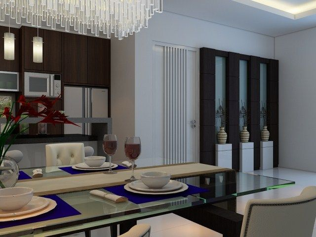 Jasa Interior Rumah Pantry Minimalis Minimalist KitchenSurabayaPantries Kitchen