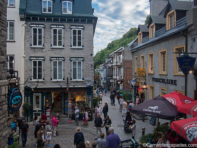 Visiter Québec en été en 10 idées - Carnet d'escapades