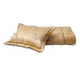 Valeron Laneige gold - Set cuvertura de pat de lux 2 persoane