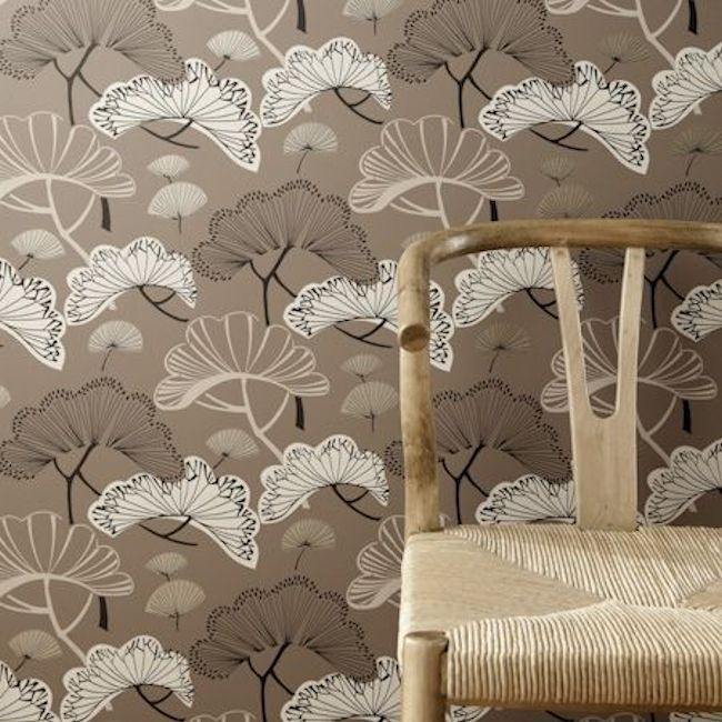 Showstoppers –  Kami by Clarke & Clarke.  Available in 7 colours.  Wallpapershop.com.au