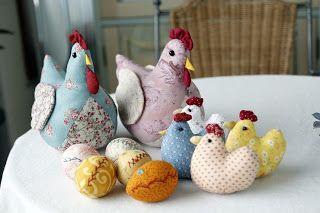 höns, kycklingar och ägg