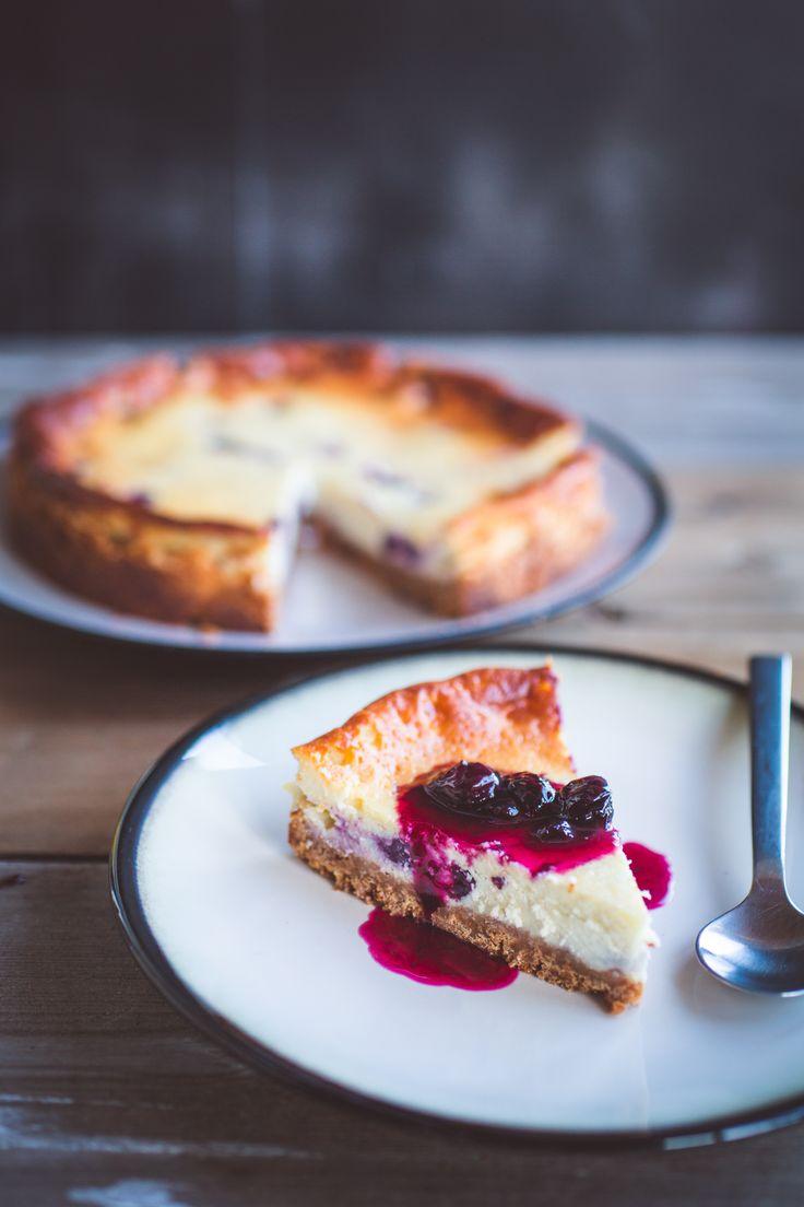 Blåbær Cheesecake