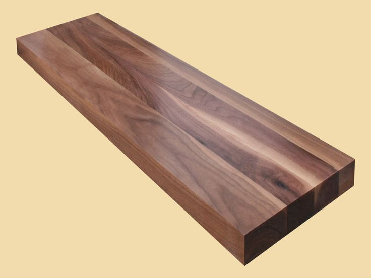 Best Custom Size Walnut Extra Thick Stair Tread Wood Stair 640 x 480
