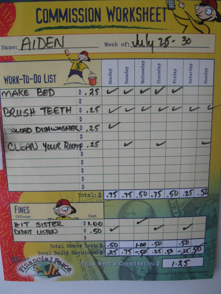 Dad Tip of the Day: Earning by Chores vs Allowance