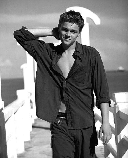 Los actores más sensuales de la década de los 90: Leonardo Di Caprio