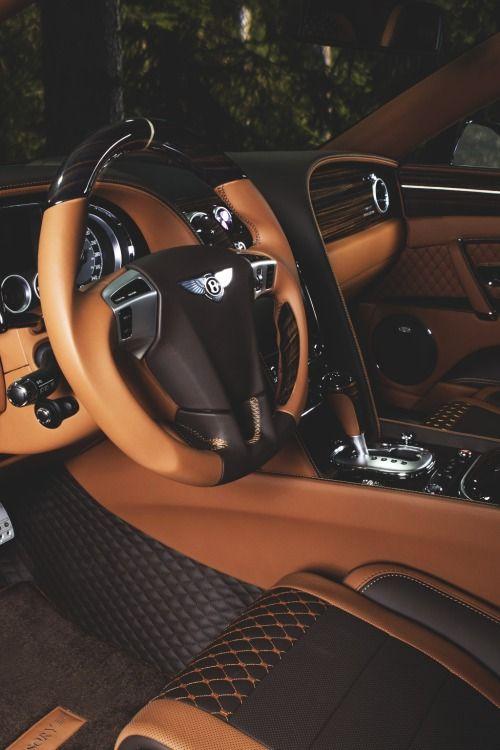 Bentley luxury interior