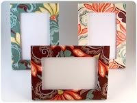 How to Make Fabric Covered Frames