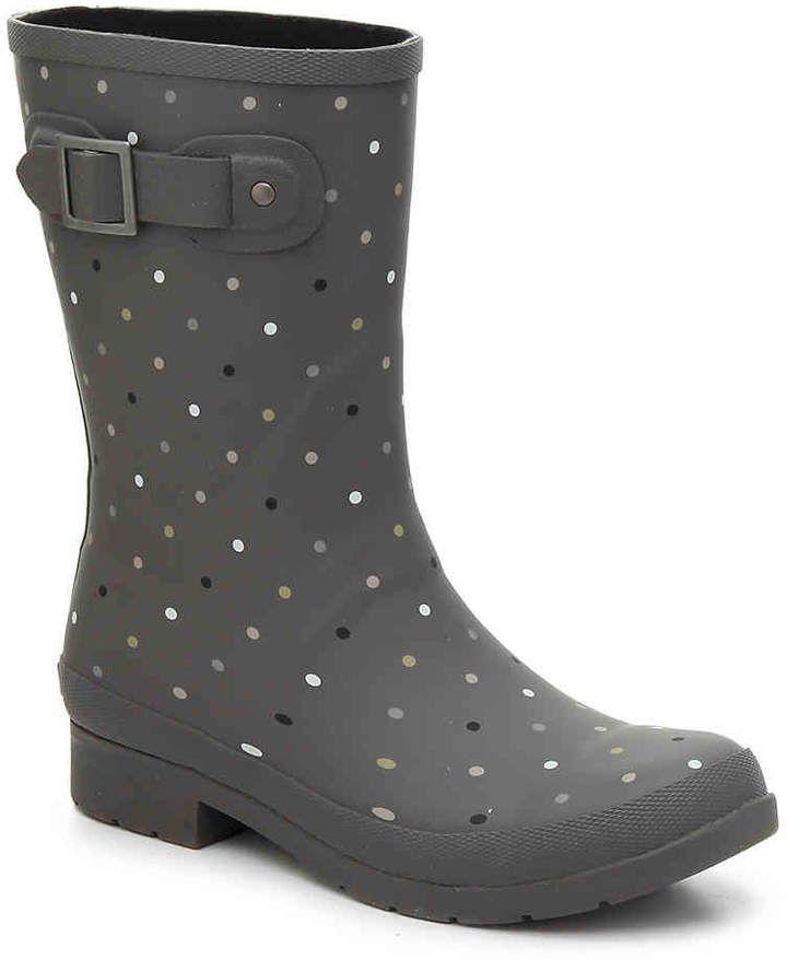 Chooka Downpour Dot Rain Boot - Women's