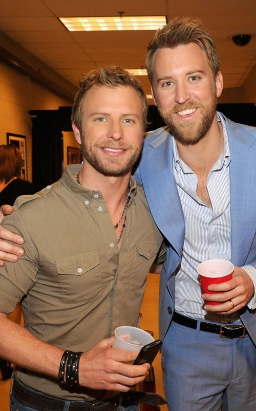 Dierks Bentley and Charles Kelley of Lady Antebellum
