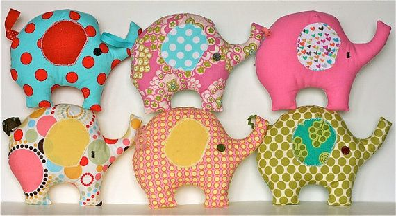 Lucky Elephant PDF Sewing ... & Elephant Throw Pillow Sewing Patterns - Patterns Kid pillowsntoast.com