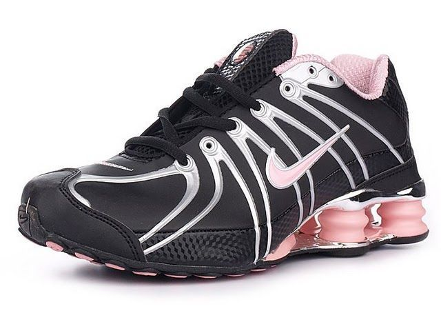 Chaussures Nike Shox OZ Noir/ Argent/ Rose [nike_12120] - €50.95 : Nike Chaussure Pas Cher,Nike Blazer and Timerland    https://www.facebook.com/pages/Chaussures-nike-originaux/376807589058057