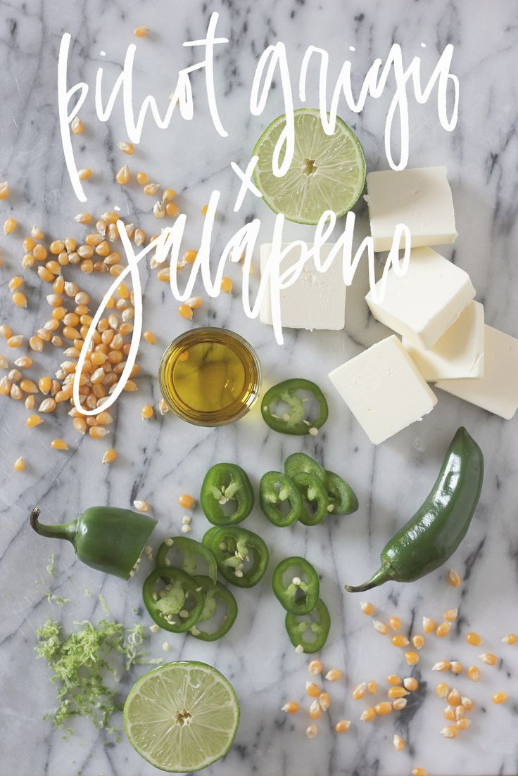 Jalapeno popcorn recipe that goes perfectly with pinot grigio | A Fabulous Fete