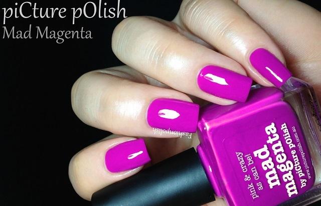 Fashion Polish: piCture pOlish Mad MagentaMichelle Boards, Picture Polish, Polish Mad, Feat Candies, Pictures Polish, Mad Magenta, Fashion Polish
