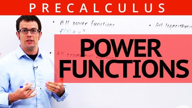 How to define power functions and identify which parent functions belong to this family.