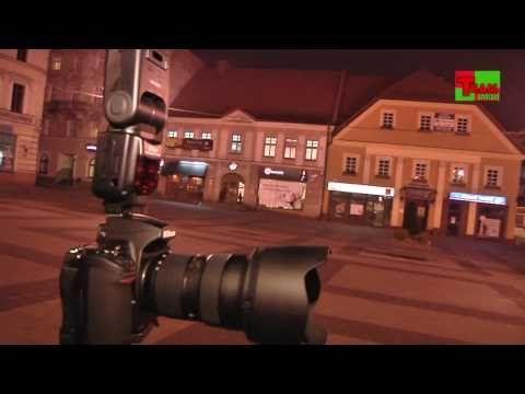 """DARMOWY KURS FOTOGRAFII DLA AMATORÓW ODCINEK 2 """"ZDJĘCIA NOCNE"""" - YouTube"""