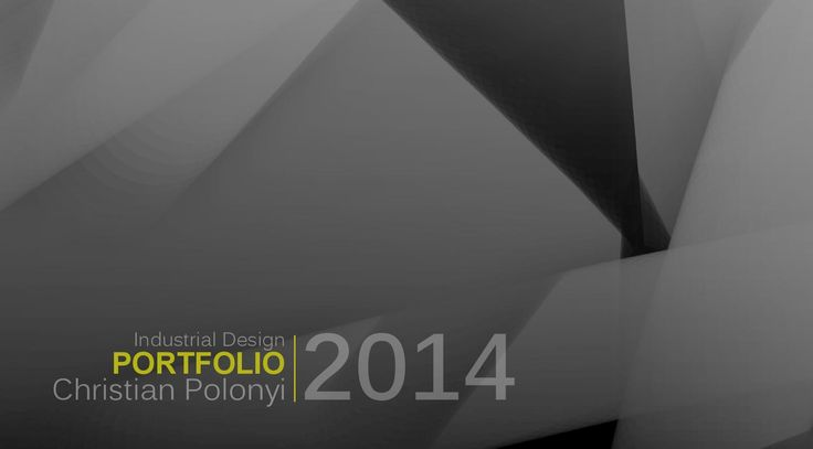 Christian Polonyi Industrial Design Portfolio