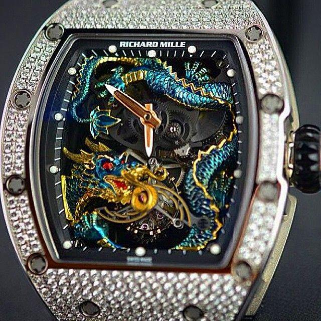 richard mille dragon watch