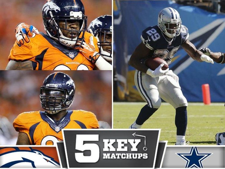 Kevin Vickerson & Terrance Knighton will need to shut down DeMarco Murry.