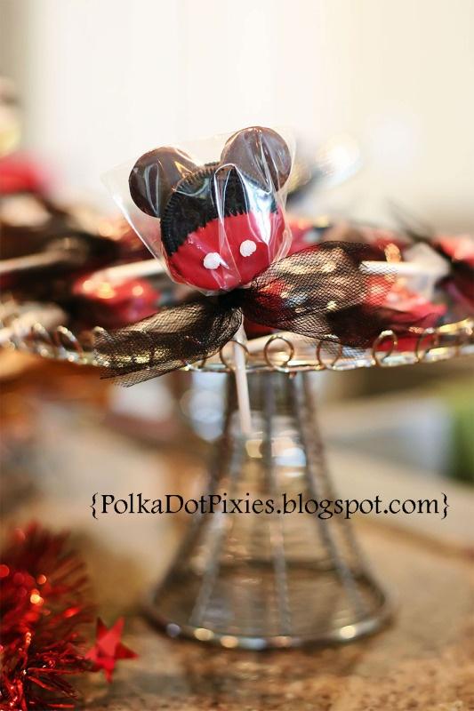 Polka Dot Pixies: {Mickey Mouse Themed Birthday Party}