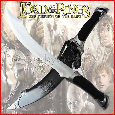 lotr  strider   LOTR Lord of the Rings Elven Strider Ranger Dagger Blade Knife Sword w ...