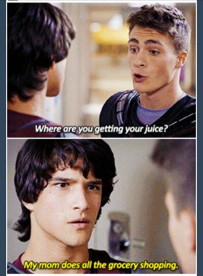 Teen wolf season 1. Where does Scott get his juice?