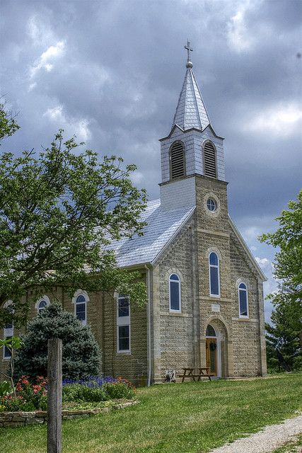 Old Stone Church in the Missouri Ozarks