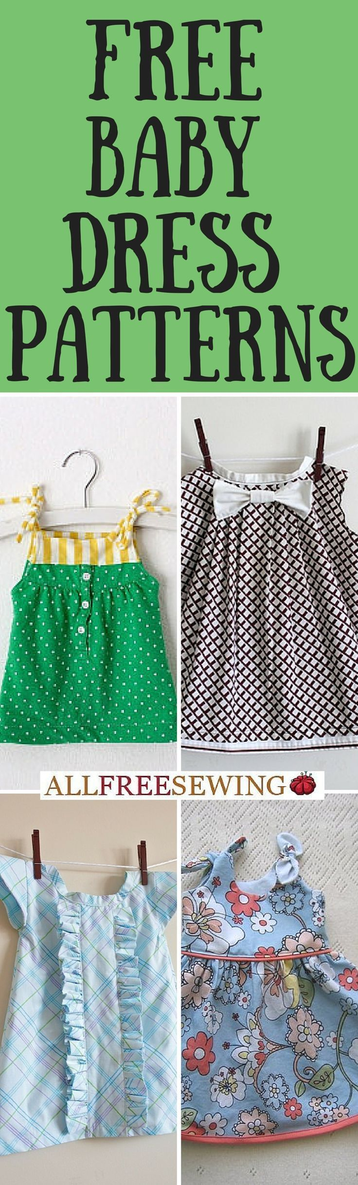 Find a baby dress pattern perfect for your little one.