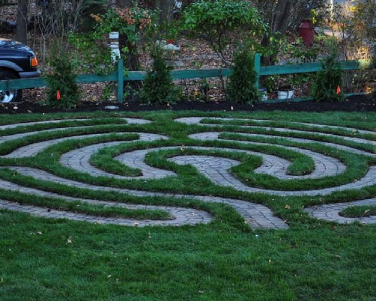 excellent ways to create garden patio labyrinth best patio design ideas