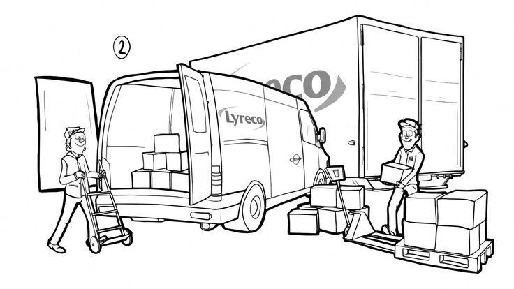 Animationsbeispiel: einen Comic zeichnen