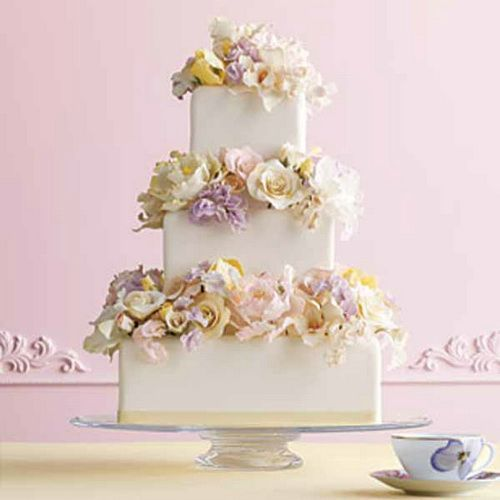 Floral Wedding Cake Designs