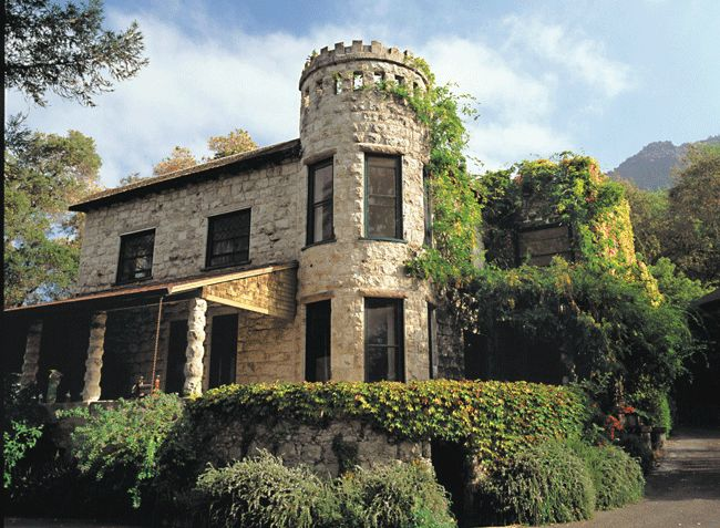 The castle-like Manor House at Stag's Leap Winery. Known for Petite Syrah and Cabernet Sauvignon.