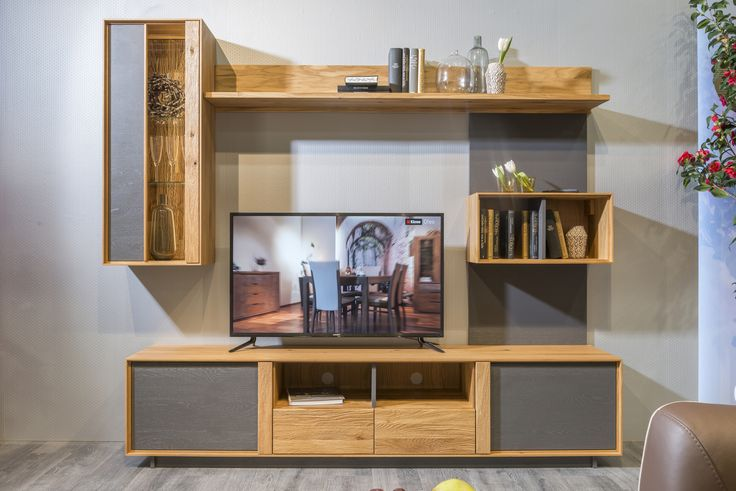Tips for Decorating Around the TV. Wooden furniture from Woodline collection. #livingroom #arounttheTV #KloseFurniture #interiorideas