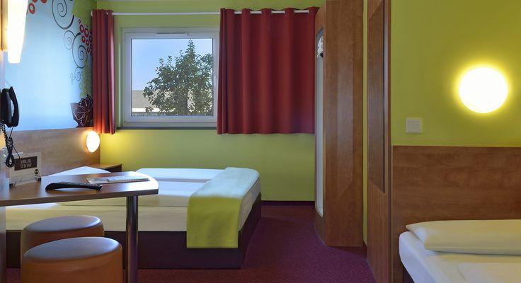 Dreibettzimmer im B&B Hotel Koblenz